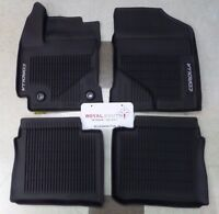 Toyota Corolla 2014 - 2018  All Weather Rubber Floor Mat Liners Genuine OEM OE