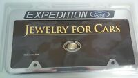 EXPEDITION license plate frame by Universal brass Jewelry -