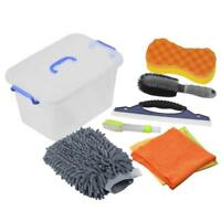 Upgraded Car Cleaning Tools Kit Exterior and Interior in Box Car Vent Brush Mitt