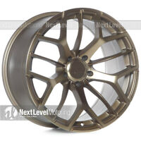 XXR 566 18X8.5 5X114.3 +35 BRONZE WHEELS (SET OF 4)