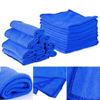1/5/10 Microfibre Cleaning Auto Car Care Detailing Soft Cloths Wash Towel Duster