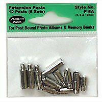 Pioneer P6A Extra Variety Pack 5, 8, 12mm Extension Posts (6 sets) f/all Post Bo