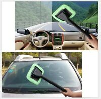 Microfiber Windshield Clean Car Auto Wiper Cleaner Glass Window Tool Brush Kit