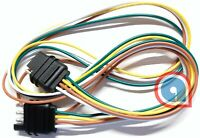 4-Way, Flat extension cord 4 Pin 2 feet/24 in Trailer Light Wiring extension