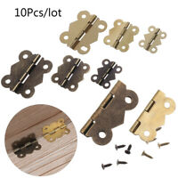 Hardware Jewelry Box Supplies Wine Wooden Case Hinges Butterfly Shape Hinge