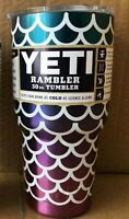 New Mermaid 30oz Yeti Tumbler keeps your beverages at desired temperatures!!