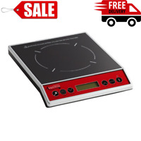 Countertop Induction Range Single Burner Commercial Restaurant Kitchen NSF 1800W