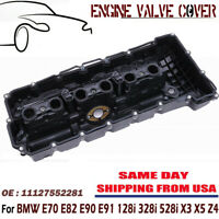 Engine Valve Cover w/Gasket Set For BMW 328xi 328i X5 X3 528i Z4 528xi 2.0L 3.0L