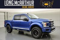 2020 Ford F-150 Lifted Supercharged Crew 4x4 650HP MSRP$83505 helby Style Active Exhaust Roushcharged Fox Shocks Hood Scoop Fender Vents