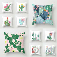 Plants Home Supplies Pillowslip Pillow Case Cushion Cover Throw Pillows Covers
