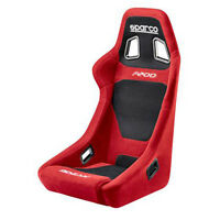 Sparco Street F200 Red Black Cloth Seat - 00917RS - FREE SHIPPING
