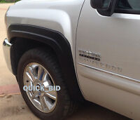 Factory Style Fender Flares for 2007-2013 Chevy Silverado 1500 Crew Cab 5.8' Bed