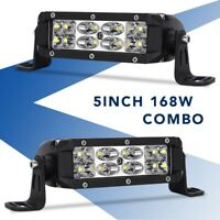 42inch 400W CURVED LED WORK LIGHT BAR FLOOD SPOT OFFROAD LAMP F1 42