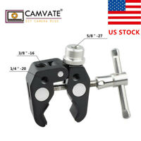 US CAMVATE Mic Super Clamp Mount with 5/8