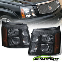 Headlights Headlamps for Cadillac Escalade 2003 2004 2005 2006 Factory HID Style