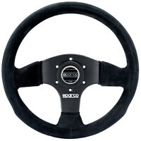 Sparco P 300 Competition Suede Steering Wheel 015P300SN