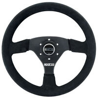 Sparco R 323 Competition Suede Steering Wheel 015R323PSNR