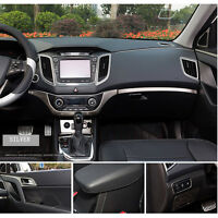 Silver Car Interior All 5 Meters Style Moulding Filler Strip Exterior Decorative