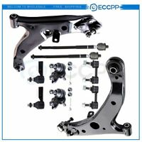 10 Piece Steering Suspension Kit Set Front for 96-02 Toyota Corolla NEW