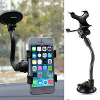 Windshield Mount Holder Universal 360°Rotating Stand Bracket for Phone GPS Car