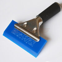 Silicone Water Removal Car Window Cleaning Tools Long Handled Rubber Squeegee