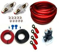 DUAL BATTERY CHARGE ISOLATOR PL + WIRING KIT + FUSES AND FUSE HOLDER 150A 80A