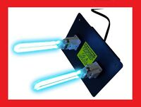UV LIGHT for ac HVAC ultravaiolet dual lamp duct air cleaner DEAL!