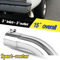 2pcs Car Bolt-on Exhaust Tips 1.5