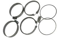 DPF Filter Clamp & Gasket Kit Detroit Engines A680950202 A6809950302 A6804910480