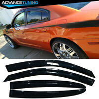 Fits 11-18 Dodge Charger Acrylic Window Visors 4Pc