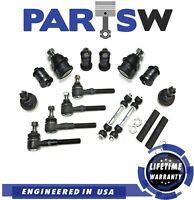 14 Pc Suspension & Steering Kit for Lincoln & Ford 4WD Models Only, Tie Rod Ends
