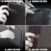 Air Filter Oil Care Cleaning Service Kit Recharger KN Aerosol Car Spray New