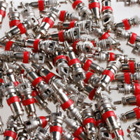 Lot 100 X Car Bicycle Motorcycle Truck Tire Tyre Valve Stem Core Part Tag