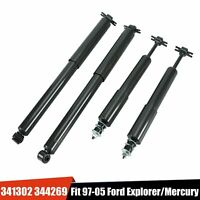 New Set of 4 Front And Rear Shocks fits 95-05 Ford Explorer Mercury Mountaineer