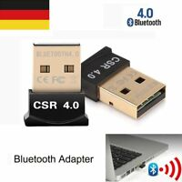 Wireless Bluetooth CSR V4.0 Dongle Dual Mode Adapter connect with Phone Tablet