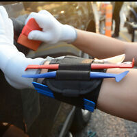 Magnetic Arm Bag Bracelet for Holding Micro Squeegee Felt Car Window Tinting Kit