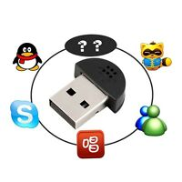 Super Mini USB 2.0 Microphone MIC Audio Adapter for PC Notebook Laptop W#