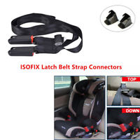 Car 3 Point ISOFIX Latch Belt Strap Connectors Safety Baby Seat Dry Cleaning Kit