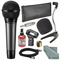 Audio-Technica ATM510 Cardioid Handheld Vocal Microphone Bundle with Windscreen
