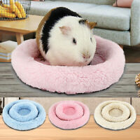 Soft Fleece Guinea Pig Bed Winter Small Animal Cage Mat Hamster Sleeping BeTE