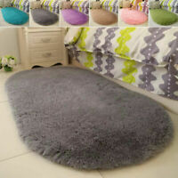 Fluffy Rugs Anti-Skid Shaggy Area Room Carpet Floor Mat Home Bedroom Supplies