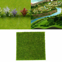 US Artificial Grass Mat Pad Fake Lawn Synthetic Landscape Gardening Supplies New