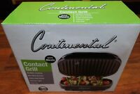 BRAND NEW IN BOX CONTINENTAL CONTACT GRILL -FREE SHIP-