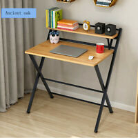 Modern Folding Computer Desk Home Office Study PC Writing Table Furniture