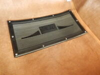 Rolls Royce S.C. I - III M.P.W Rubber Mat to place over Carpet Driver's side NEW