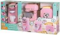PLAYGO GOURMET KITCHEN APPLIANCE 3-PC SET ~2019 ~ COLOR: PINK, NEW