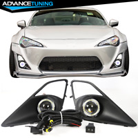 Fits 12-16 Scion FRS Toyota GT86 Front Bumper Clear Fog Lights Left Right