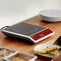 Countertop Induction Cooker Portable Digital Cooktop Electric Flameless Burner