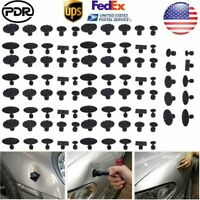 90pc Car Body Paintless Dent Repair PDR Tools Glue Tabs Puller Hail Removal Set