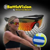 2 Pairs BattleVision HD Polarized Sunglasses Clear Vision As Seen on TV Unisex